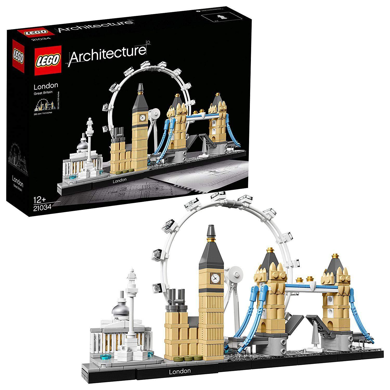 Jusqu'à 38% de réduction sur une sélection de Lego - Ex : Lego Architecture - Londres - 21034