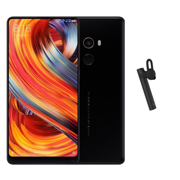 """[CDAV] Smartphone 5.99"""" Xiaomi Mi Mix 2 - Full HD+, Snapdragon 835, RAM 6 Go, ROM 64 Go + Oreillette Bluetooth (Via ODR de 70€)"""