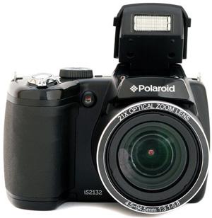 """Polaroid Appareil photo numérique Polaroid Bridge IS2132 16 Mpx avec zoom optique 21x et écran LCD 3"""""""