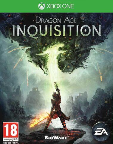 Dragon Age 3 Inquisition sur Xbox One (Via retrait magasin)