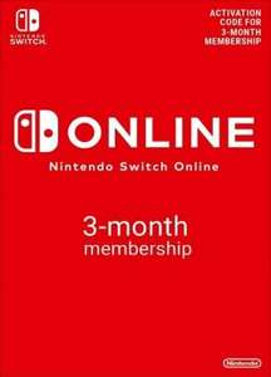 Code Abonnement Nintendo Switch Online - 3 Mois (Dématérialisé)