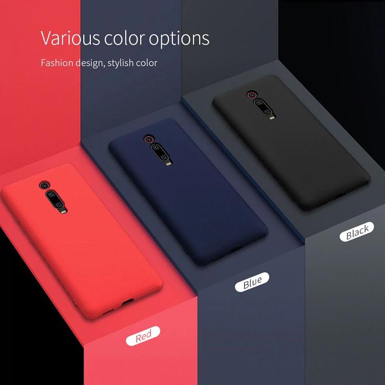Coque Nillkin en silicone pour smartphone Xiaomi Mi 9T / Redmi K20