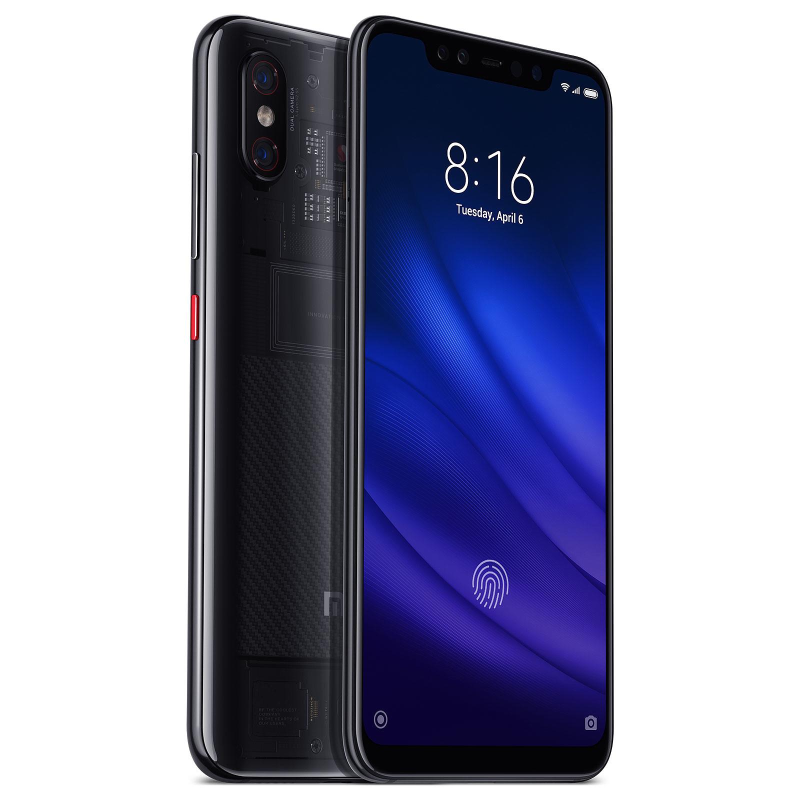 """[CDAV] Smartphone 6.21"""" Xiaomi Mi 8 Pro (Transparent) - Full HD+, Snapdragon 845, RAM 8 Go, 128 Go, Empreinte sous l'écran (Via ODR de 50€)"""