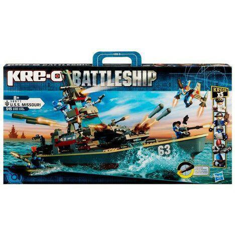 Jeu de construction Kre-O Battleship Missouri 545 pièces