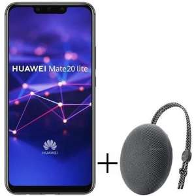 "Pack Smartphone 6.3"" Huawei Mate 20 Lite (64 Go) + Enceinte Bluetooth Huawei CM51"