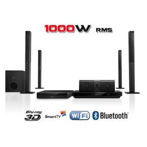 Home-cinéma Blu-ray Philips HTB5580G/12 - 3D, Bluetooth, Wifi, NFC, Smart TV