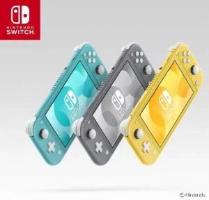 Console Nintendo Switch Lite (Via 30€ sur la carte fidélité)