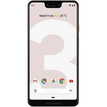 """Smartphone 6.3"""" Google Pixel 3 XL - QHD+, SnapDragon 845, 4 Go de RAM, 64 Go, Rose + Casque Daydream Offert + 6 mois Youtube Premium offerts"""