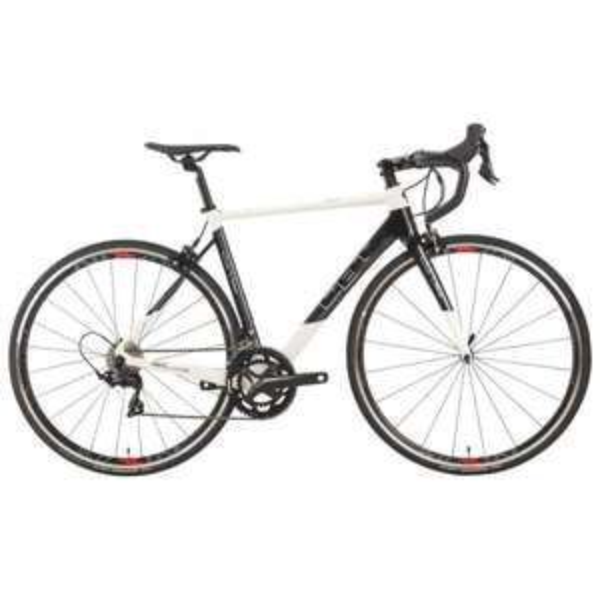 Vélo de Course CBT Italia Necer Shimano 105 Mix 34/50 (2018)  - Noir/Blanc