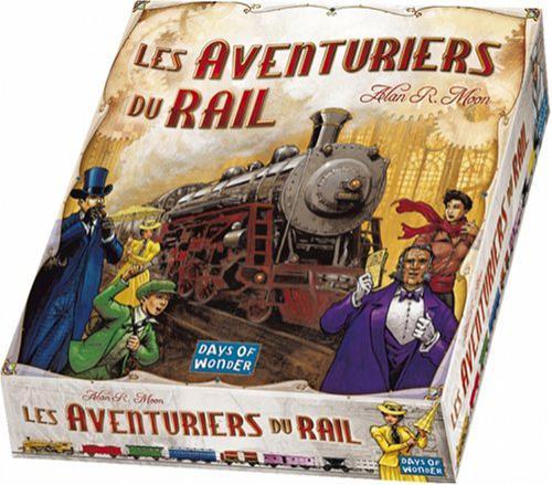 Jeu Asmodée Les Aventuriers du Rail USA