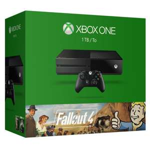 Pack Microsoft Xbox One 1To + 2 Jeux (Fallout 3 et 4)