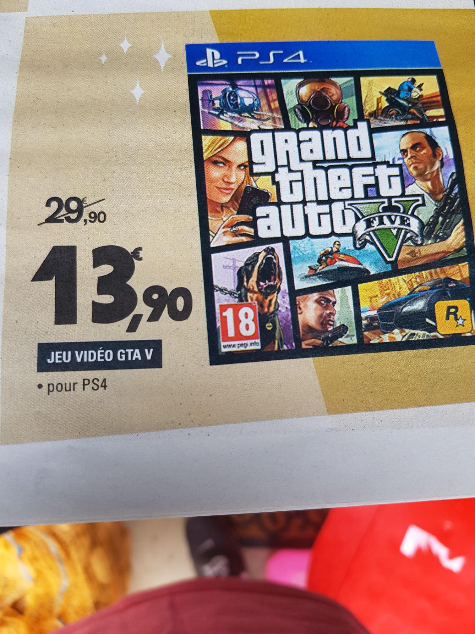Grand Theft Auto V (Gta V) sur PS4 - Thionville (57)