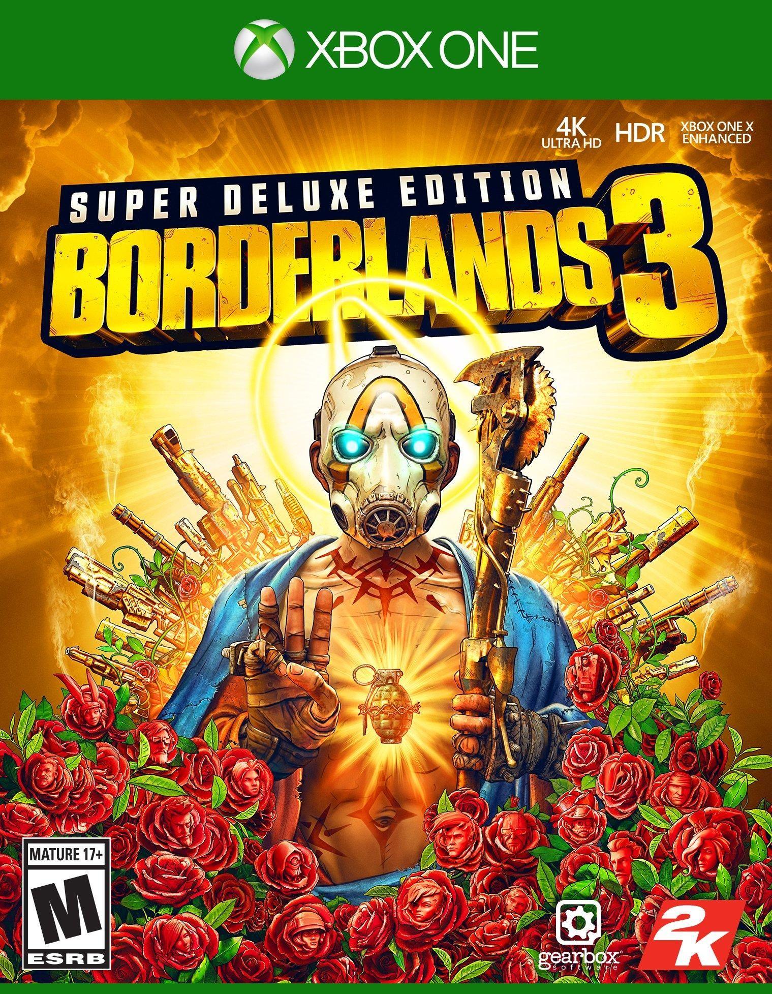 Jeu Borderlands 3 - Super Deluxe sur Xbox One