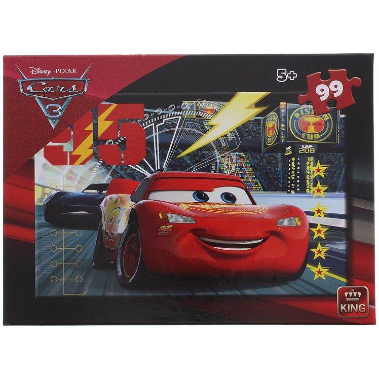 Sélection de puzzles Disney - Ex : Puzzle Cars - 99 pièces