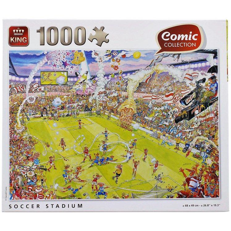 Puzzles - 1000 pièces (plusieurs modèles)