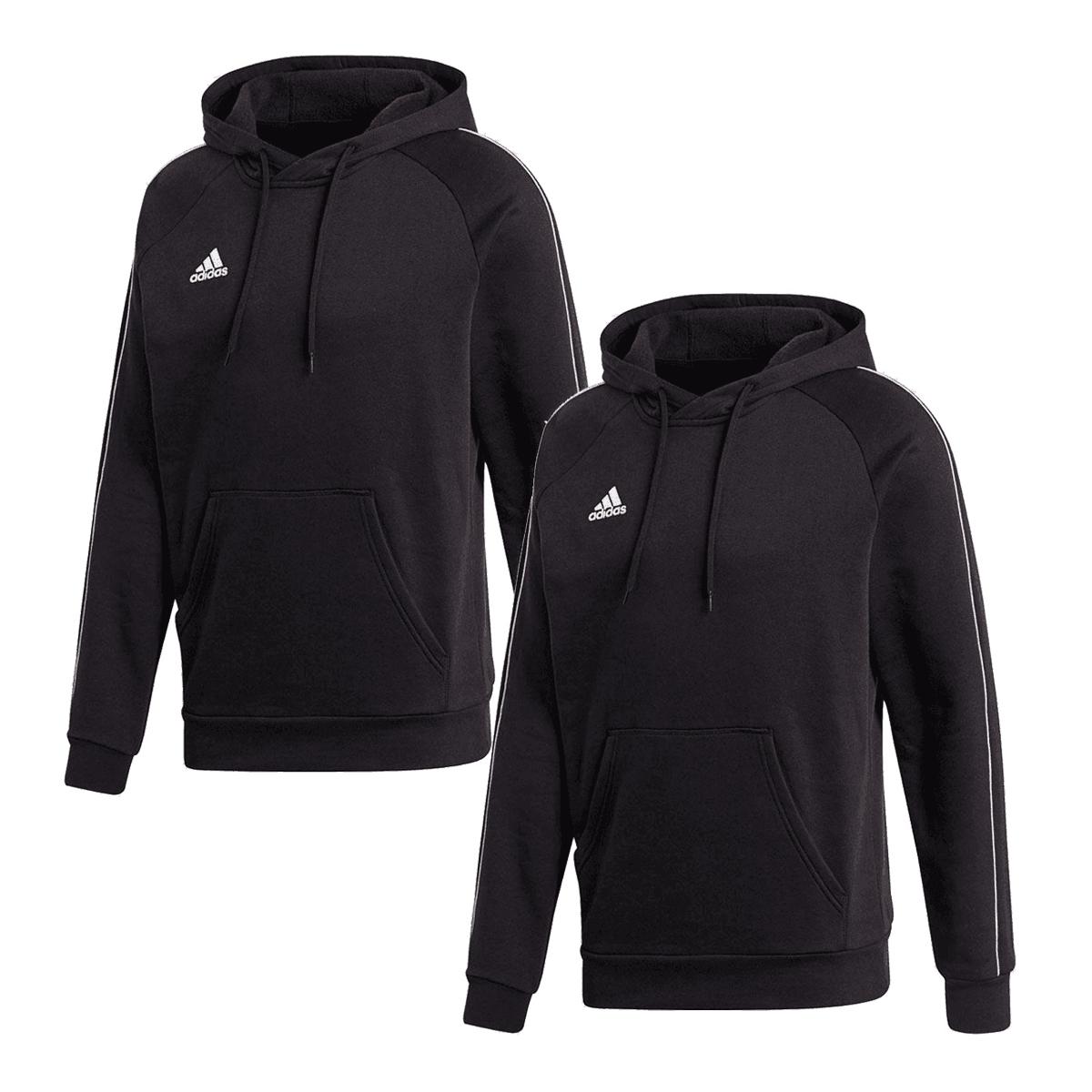 2 Sweat à capuche Adidas Hoody Core 18 (4 couleurs et différentes tailles dispo)