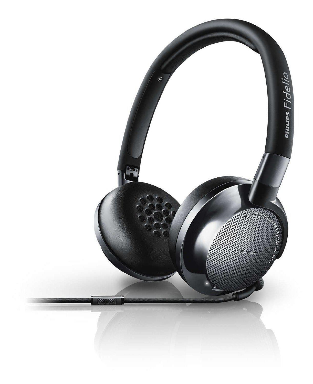 Casque supra aural Philips Fidelio NC1 avec micro et prise d'appel (via ODR de 50€)