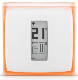 Thermostat Connecté et Intelligent Netatmo NTH01-FR-EC (via ODR 30€) - electrissime.fr