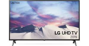 "TV LED 65"" LG 65UM7100 - 4K, HDR10, Dalle IPS, 1600 PMI, Smart TV, Ultra Surround"