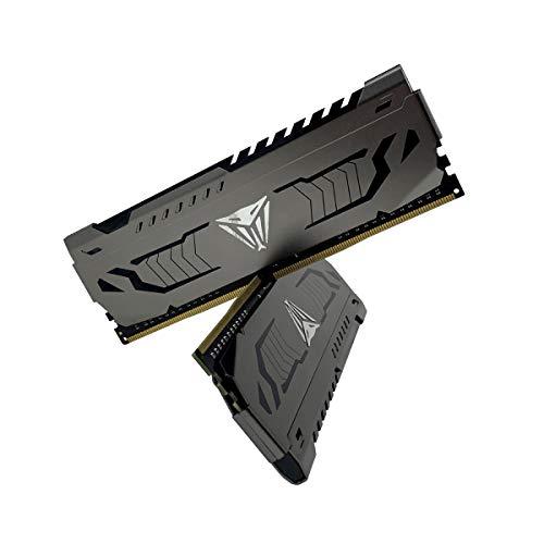 Kit mémoire RAM Patriot Viper Steel Series Performance - 16 Go (2 x 8 Go) DDR4, 3733 MHz, PC4-17000 (vendeur tiers)