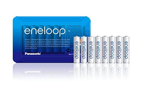 Pack de 8 piles AAA Rechargeable  Panasonic Eneloop (Vendeur Tiers)