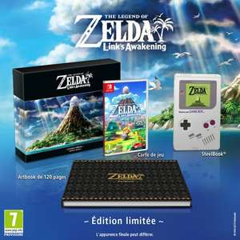 Pré-commande : Jeu The Legend of Zelda Link's Awakening sur Nintendo Switch - Edition Limitée