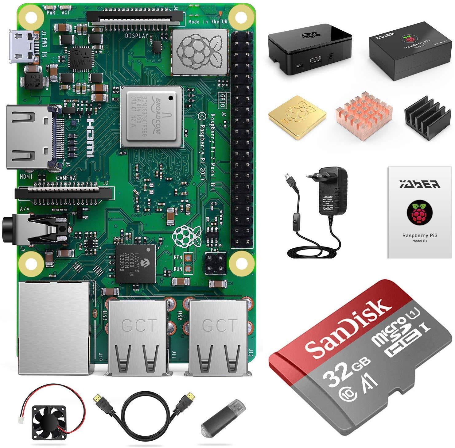 Kit de démarrage Yaber Raspberry Pi 3 + Accessoires (Vendeur tiers)