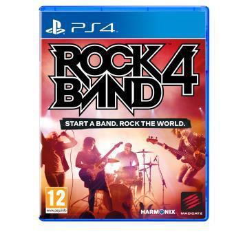Sélection de packs Rock Band 4 sur PS4 et Xbox One en promo - Ex : Le jeu Rock Band 4 sur PS4