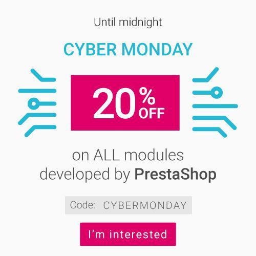 20%  de réduction sur les modules