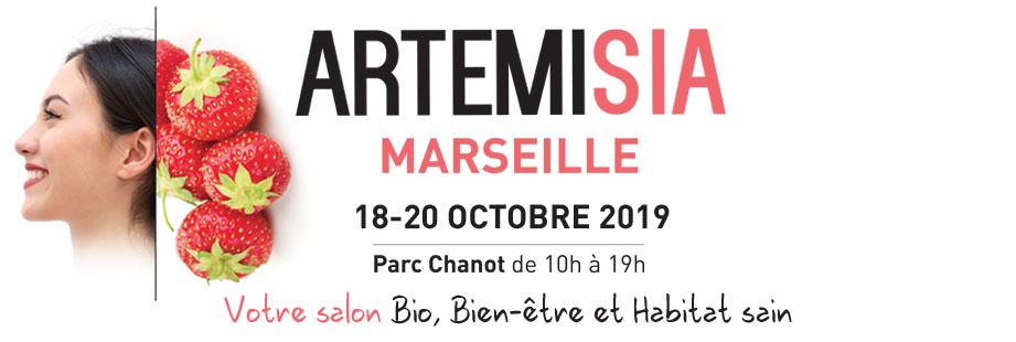 Invitation gratuite pour le salon Artemisia (Marseille 13)