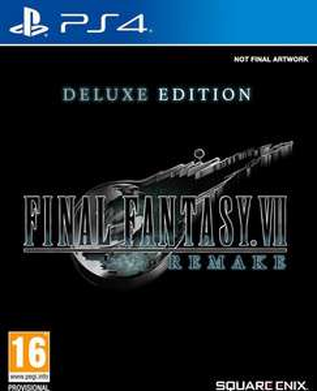 Final Fantasy VII Remake Deluxe Edition - PS4 - (Dreamland.be - Frontalier Belgique)