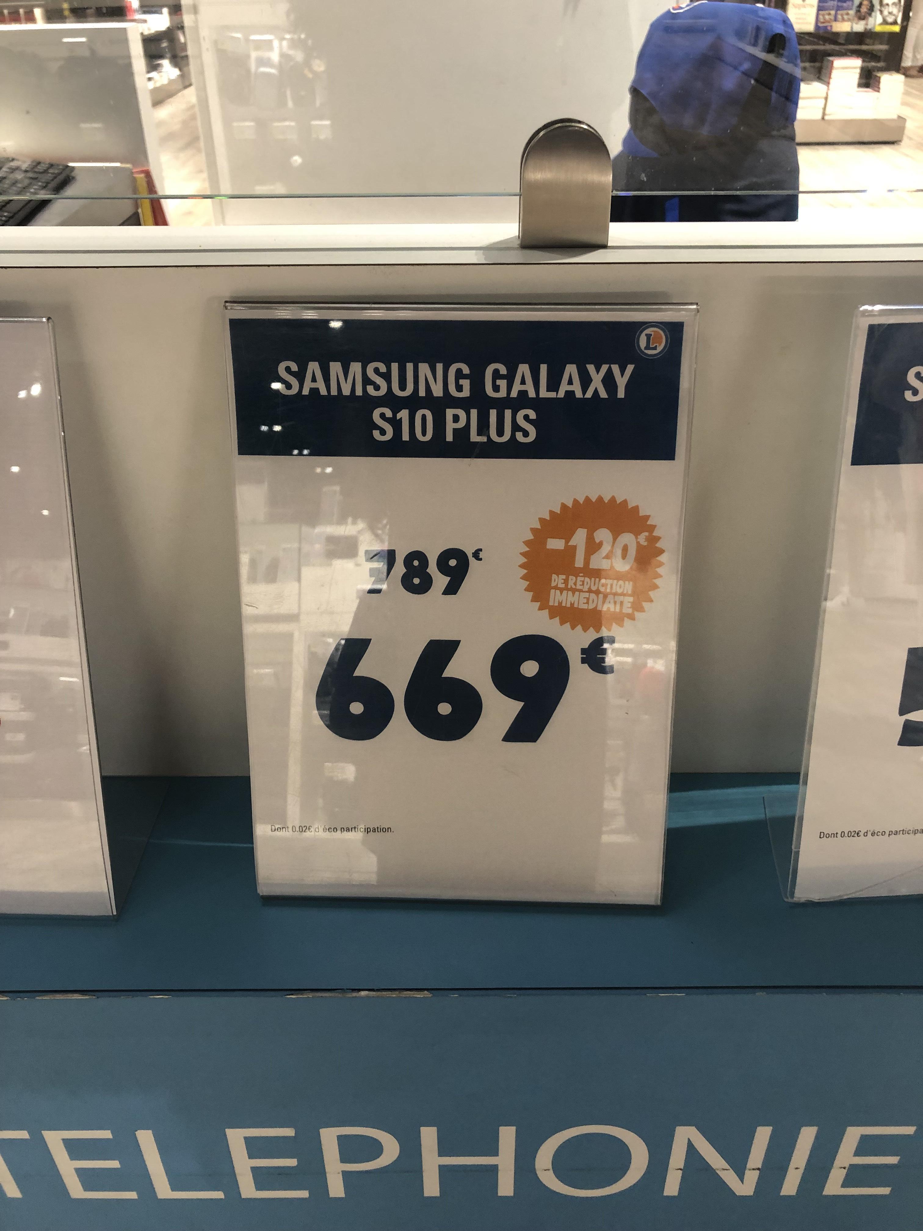 "Smartphone 6.4"" Samsung Galaxy S10+ Plus (128 Go) - Blagnac (31)"