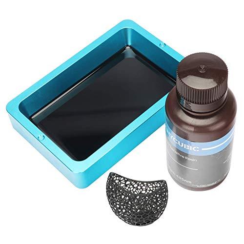 Résine d'impression Anycubic - 405nm, 1000ml pour imprimante 3D - Noir (Vendeur tiers)