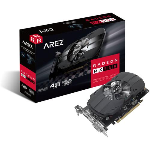 Carte graphique Asus AREZ Radeon RX 550, 2 Go