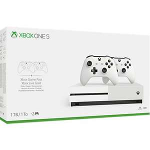 Console Xbox One S 1to + 2 manettes + FIFA 20