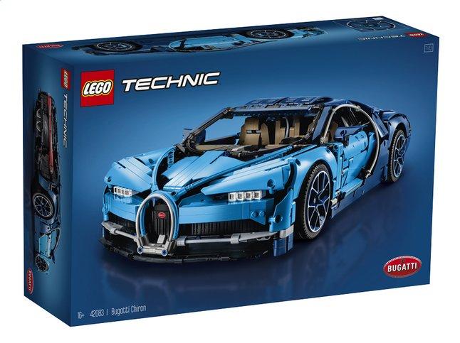 Jeu de Construction Lego Technic (42083)- Bugatti Chiron (Frontaliers Belgique)