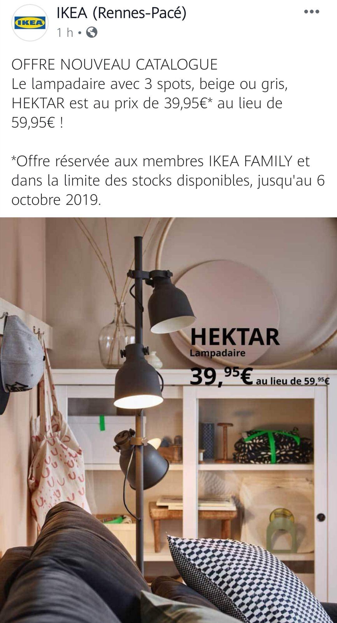 [Ikea Family]Lampadaire Hektar - National