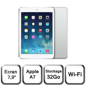 "Tablette 7.9"" Apple iPad Mini 2 - Wi-Fi, 32 Go, Argent"