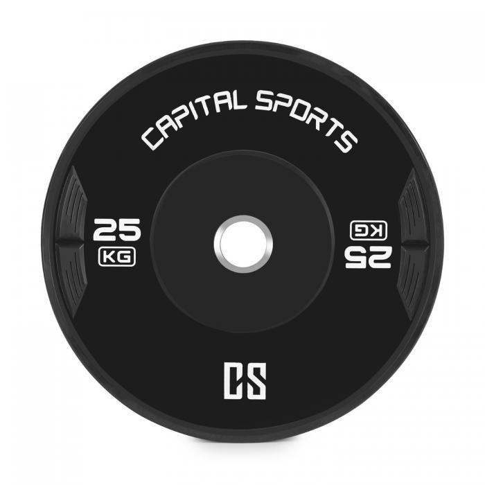 Paire de 2 bumpers Capital Sports - 2 x 25 Kgs