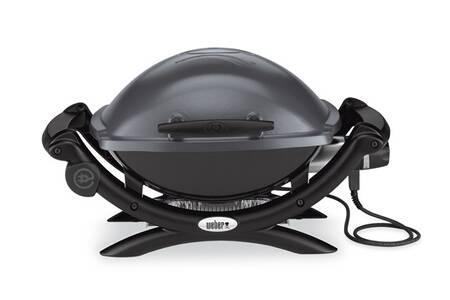 Barbecue électrique Weber Q1400 grey + 15€ en carte cadeau