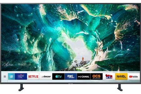"TV 55"" Samsung UE55RU8005 - 4K UHD,  100 Hz, dalle VA"