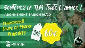 Abonnement au TLM Volley-ball - Tourcoing (59)