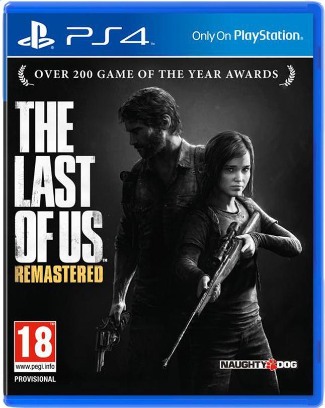 Sélection de Jeux PS4 ( Ex : The Last of us remastered à 19.99€ )