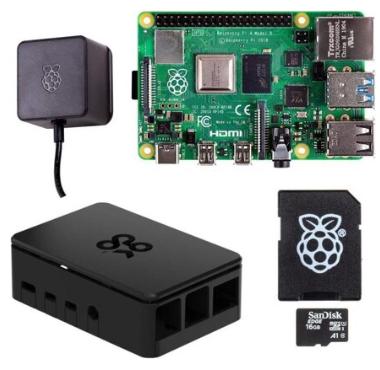Kit de développement Raspberry Pi 4 4G Model B Full Starter ARMv8 (Frontaliers Suisse)