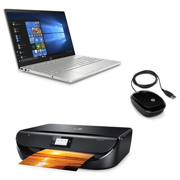 """[Adhérents] PC Portable 15.6"""" HP Pavilion 15-cs0021nf - i7-8550U, RAM 8 Go, 1 To, MX150 + Souris & Imprimante (+ 90€ fidélité) - ODR de 100€"""