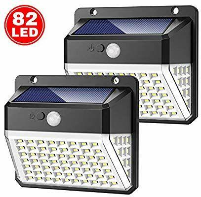 Lampes Solaire Extérieur Yacikos - 82 LED (vendeur tiers)