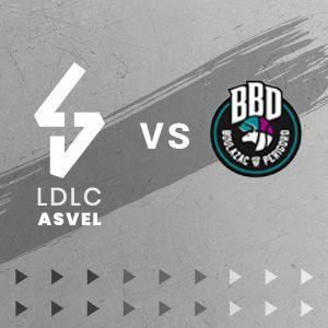 Places gratuites pour le match de basket LDLC ASVEL vs Boulazac - Mercredi 25 septembre à 20h - Villeurbanne (69)