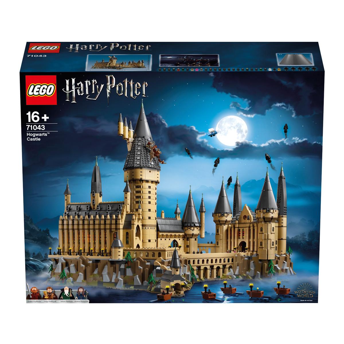 Jeu de construction Lego Harry Potter - Le château de Poudlard - 71043 (elcorteingles.es)