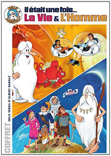 Coffret 8 DVD Il était une fois la vie & l'homme - Inclus Livre quizz