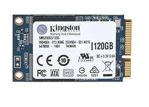 SSD mSATA  Kingston SSDNow mS200  - 120 Go